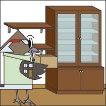 収納、家具、棚の工事画像