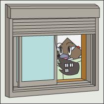 窓まわりの工事画像