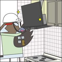 食器洗い乾燥機の交換工事