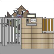 門、塀まわりの工事画像