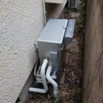 ガス給湯器 施工完了