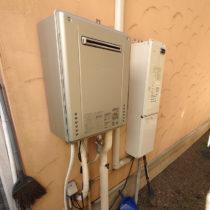 ガス給湯器交換 施工完了